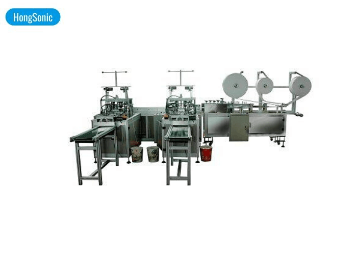 3ply Surgical Mask Making Machine One For Two